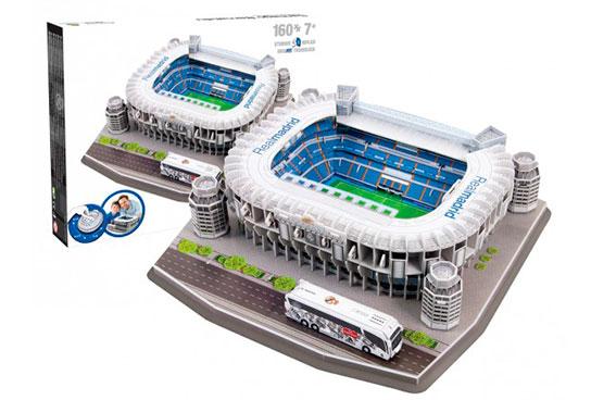 Santiago bernab u puzzle 3d del estadio del real madrid c f sinopsis y precio fnac - La casa del puzzle madrid ...