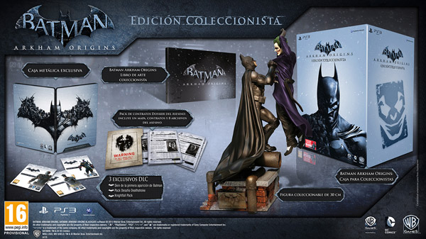 Batman Arkham Origins Coleccionista PS3