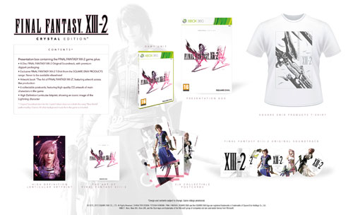 Final Fantasy XIII-2 Edición Crystal