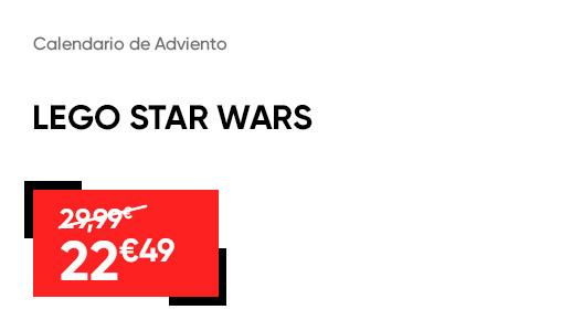 Calendario de Adviento Lego Star Wars-Oferta-Black-Friday-Fnac