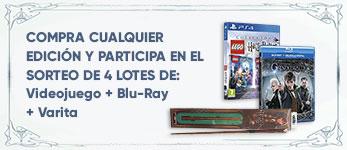 Por la compra de cualquier edición de la película entra en el sorteo de 4 lotes de videojuego + la película en Blu-Ray + una taza 3G