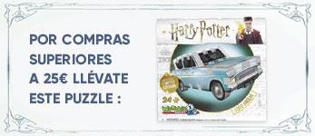 Por compras superiores a 25€ en el Universo de Harry Potter & Animales Fantásticos llévate un puzzle ¡de regalo!