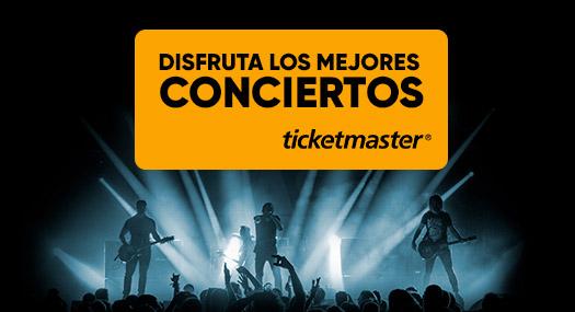 Disfruta de los mejores conciertos - Ticketmaster
