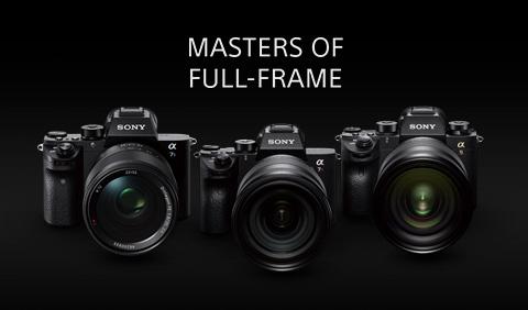 Cámaras Full Frame Sony