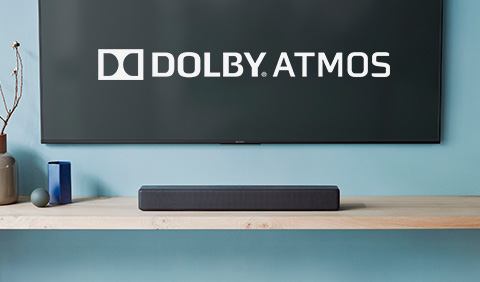 Barras de sonido con Dolby Atmos Sony