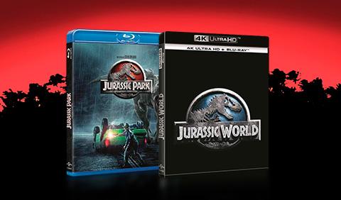 Cine Jurassic Park y Jurassic World