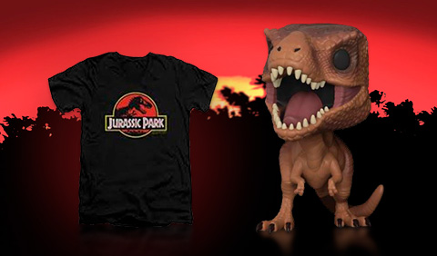 Merchandising Jurassic Park y Jurassic World