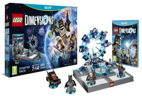 Lego Dimensions Pack De Inicio Wii U Para Los Mejores Videojuegos