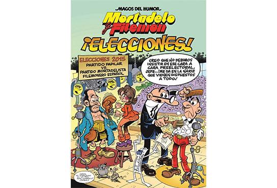 Magos Del Humor  Mortadelo Y Filem U00f3n 179   U00a1elecciones  - Francisco Ib U00e1 U00f1ez