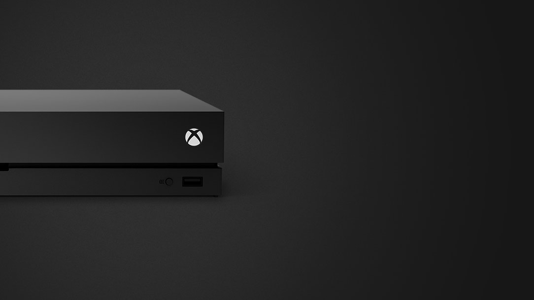 Xbox One X med
