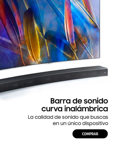 Barra de sonido Bluetooth curva Samsung Sound+