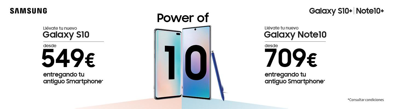 Promoción Galaxy Note10 - S10