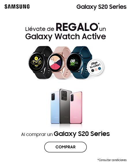 Llévate de regalo un Galaxy Watch Active