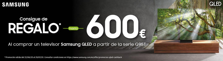Hasta 600 € de regalo en QLED