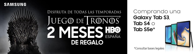Promoción HBO Galaxy Tab