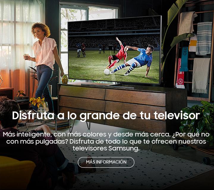 Televisores Samsung de grandes pulgadas