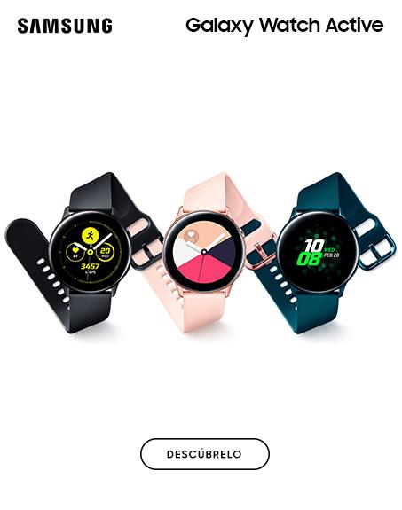 Nuevos Galaxy Watch Active